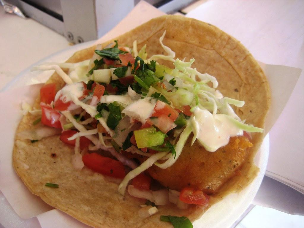 Tacos El Fenix Ensenada Fish Taco