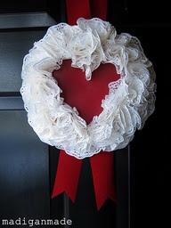Outdoor Valentine's Day Decor