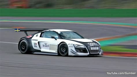 Audi R8 LMS Ultra GT3   LOUD Sounds!!   YouTube