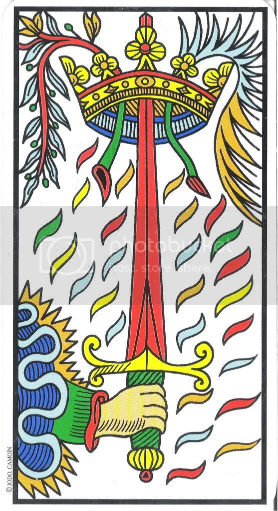 Resultado de imagen de as de espadas jodorowsky