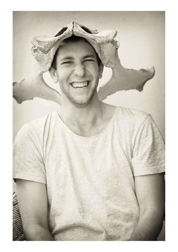 Male Model Porfolio Shoot, Bone Hat