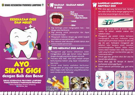 contoh brosur gigi contoh ter