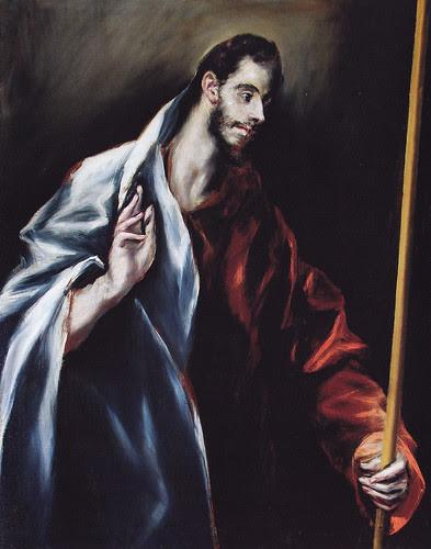 Santo Tomás. Obra de El Greco