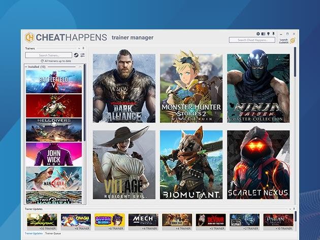 Cheat Happens Latest PC Cheat Codes: Premium Lifetime Subscription for $49