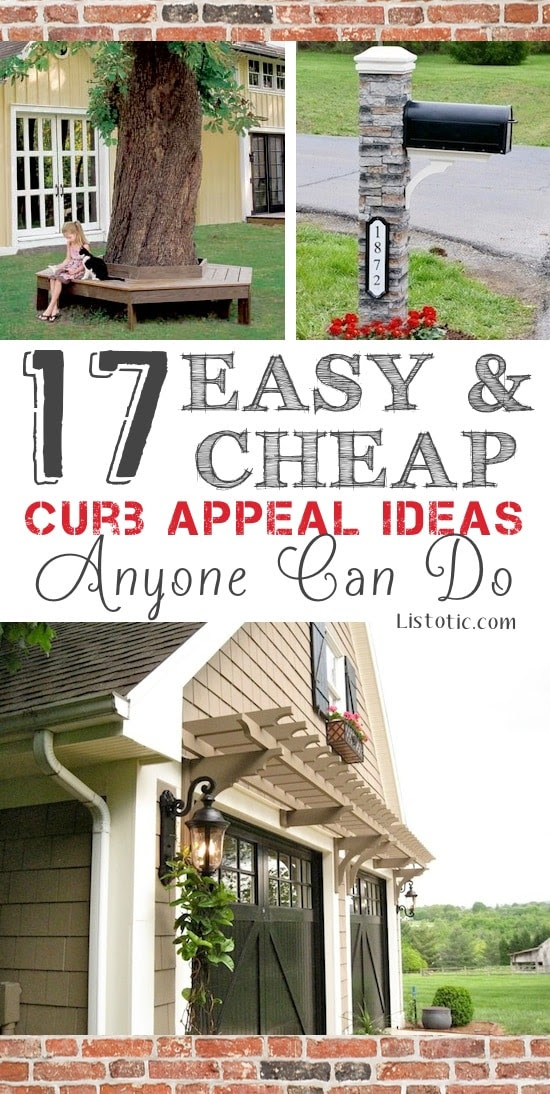 LOVE these curb appeal ideas Lots of before and after photos