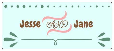 Cute Wedding Water Bottle Labels   Label Templates