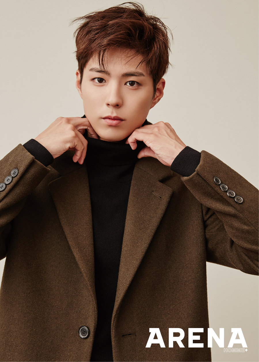 Park Bo Gum - Arena Homme Plus Magazine January Issue '17
