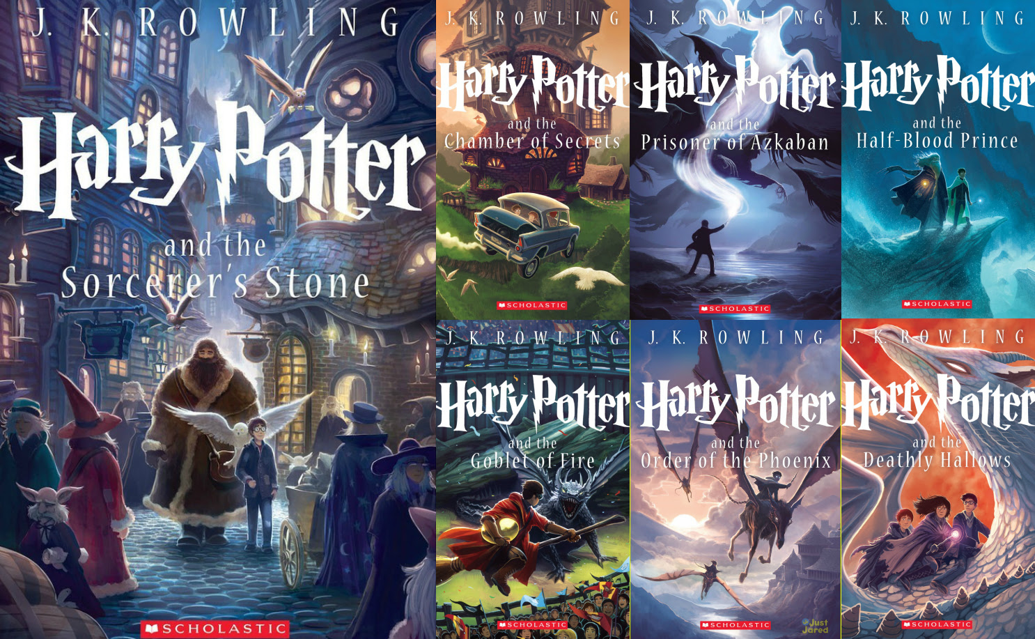 Harry Potter Books 26 High Resolution Wallpaper Listtoday