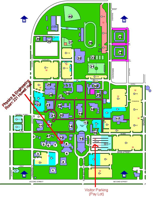 Uco Campus Map Uco Campus Map | States Maps