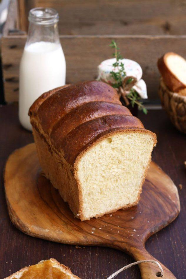 Homemade French Brioche Bread • Happy Kitchen.Rocks