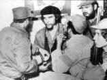 Reencuentro Fidel y el Che. 1959.