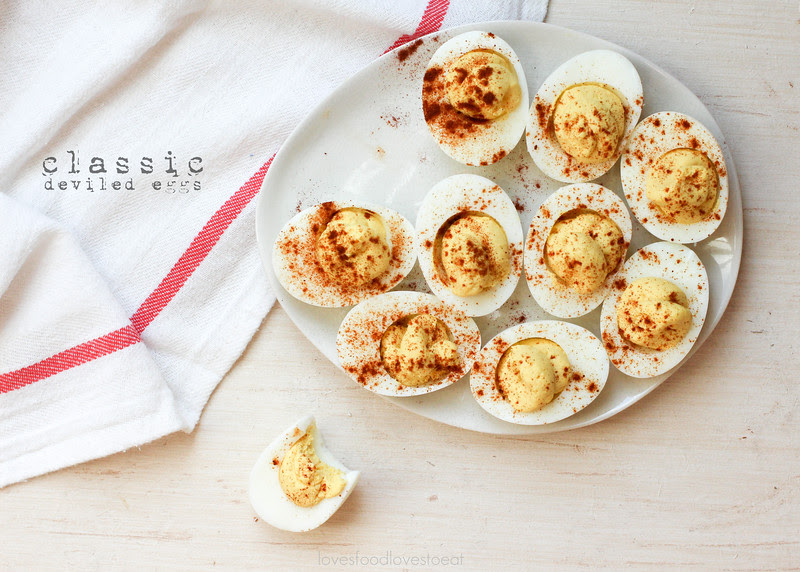 Classic Deviled Eggs // Loves Food, Loves to Eat