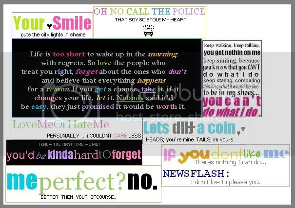 Love quotes and sayings icons