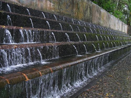 mur de cascade