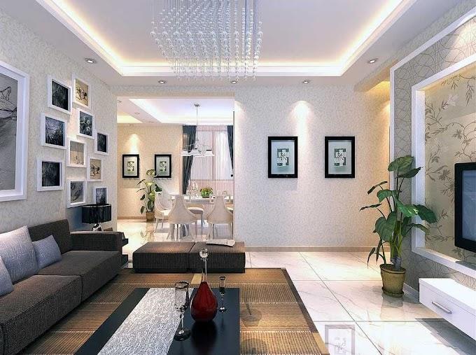 Desain Interior Sekat Ruang Tamu | Ide Rumah Minimalis
