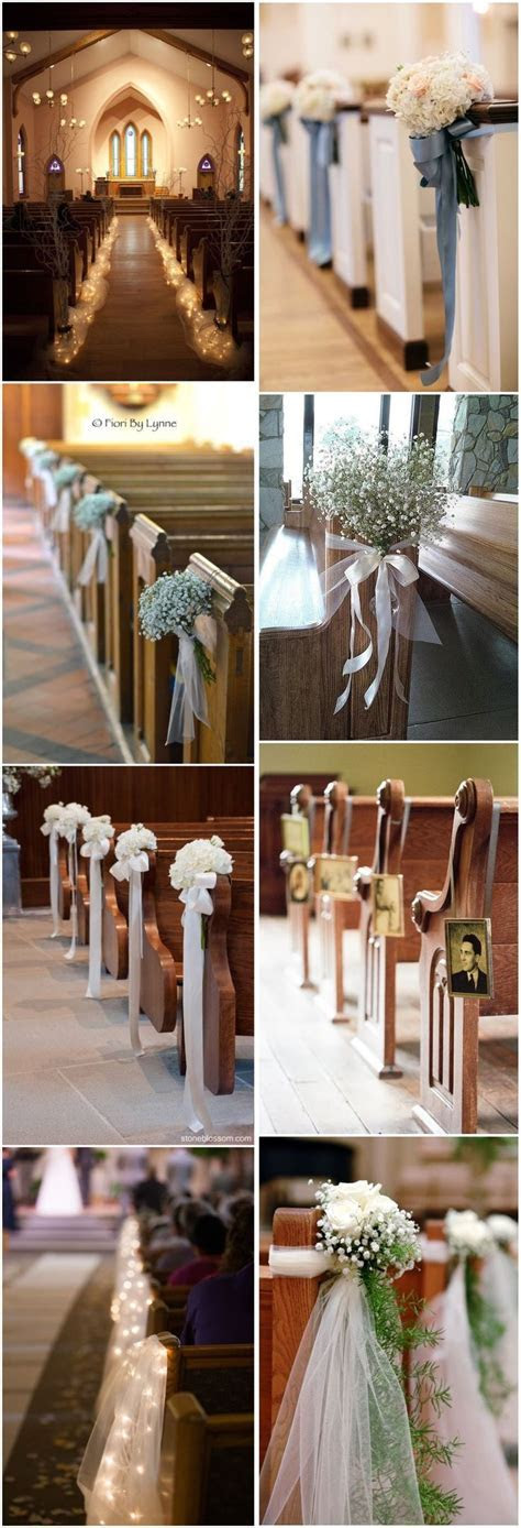 Best 20  Wedding Church Aisle ideas on Pinterest   Church