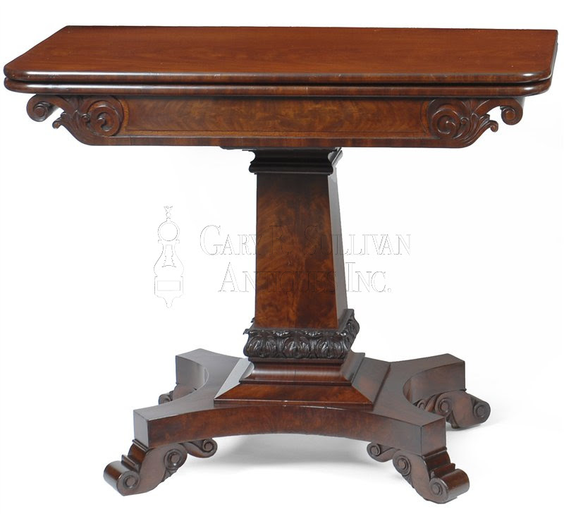 Pair of Classical Games Tables, Boston, Mass - Furniture 007041 ...