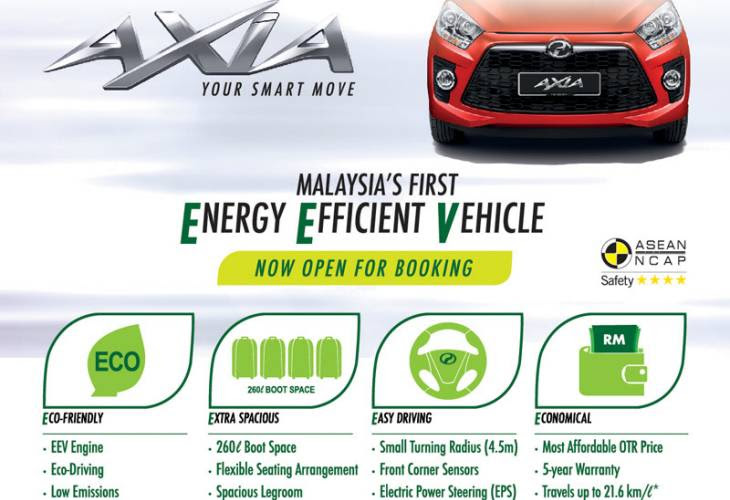 Perodua Axia price with specs from Paultan  Product