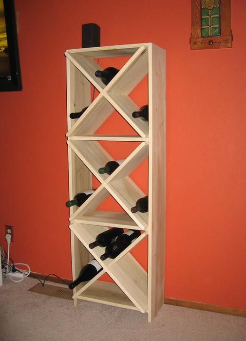 Ikea Wine Rack By Captainskully At Lumberjockscom Woodworking