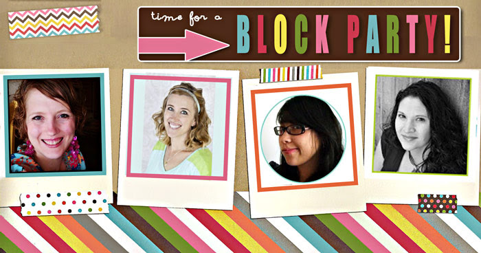 It's Time for a Block Party! Link up at one of these great blogs and be seen on all four! Making the World Cuter, Sumo's Sweet Stuff, Rae Gun Ramblings and Keeping it Simple