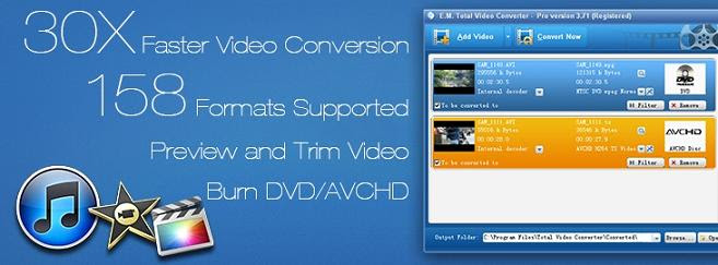 Total Video Converter 3.71  برنامج تحويل صيغ الفيديوهات