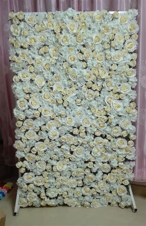 DIY Flower Backdrop (procedure in detail)