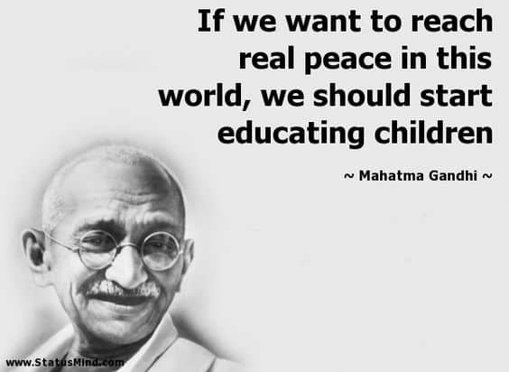 130 Mahatma Gandhi Quotes On Love Life Education