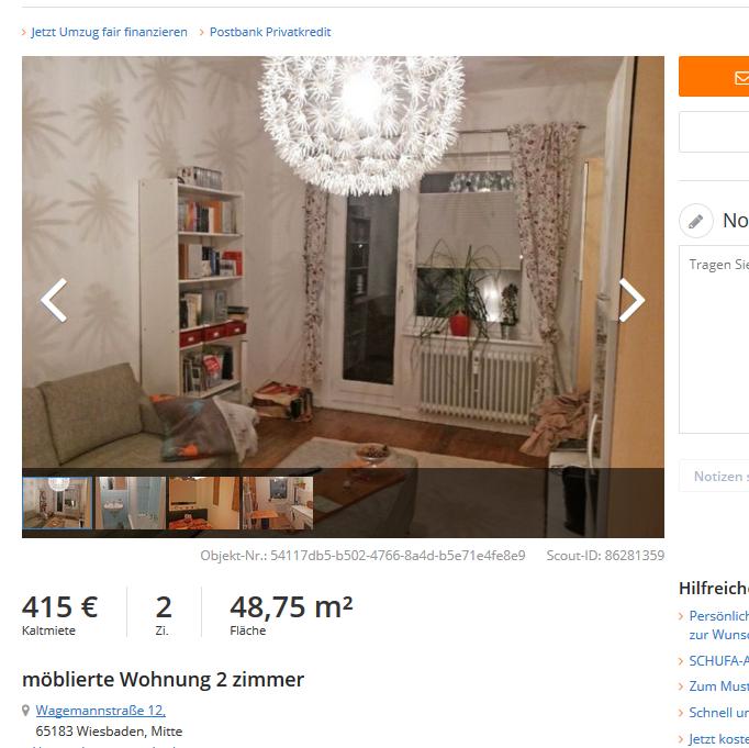 m blierte wohnung 2 zimmer. Black Bedroom Furniture Sets. Home Design Ideas