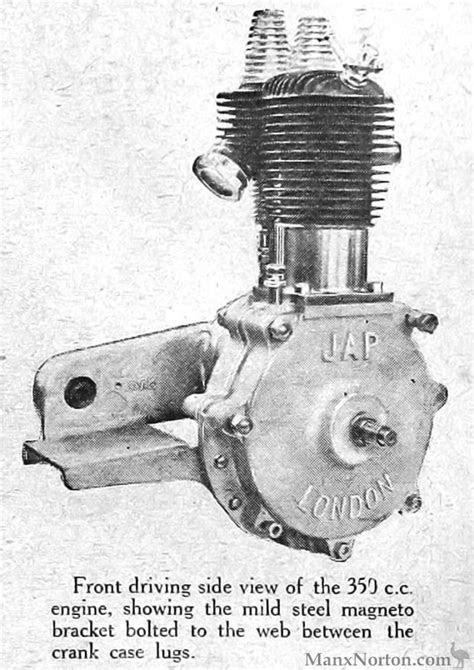 JAP Engines 1922