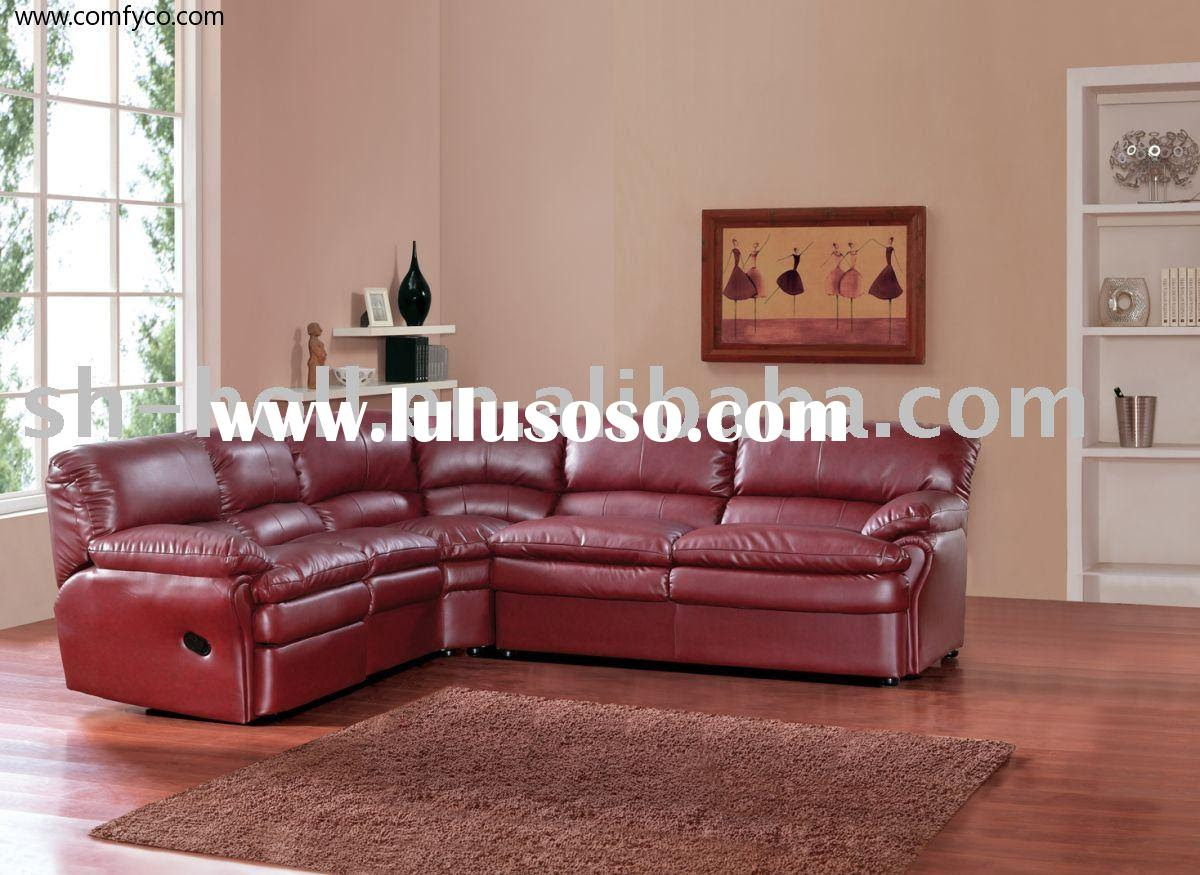 Reclining Sectionals Recliners Home Design Ideas ~ Rust Colored Sectional Sofa