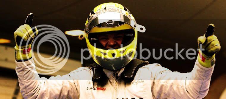 Nico Rosberg celebra su victoria en GP de China 2012