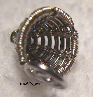 Wire Woven Bead Cap