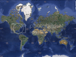 Google Map of the Earth