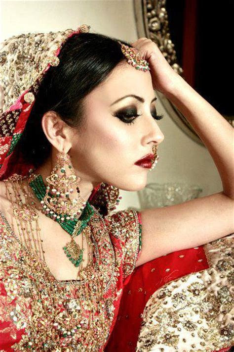 Pakistani Bridal Wedding Dress By Ainy Jaffri   XciteFun.net