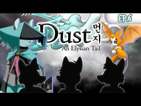 Between 2 Foxes - Furry Games: Dust an Elysian Tail - Ash Coyote - EP6