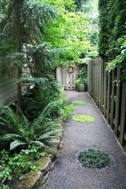 Landscaping Narrow Side Yard Idea
