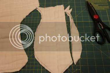 prefold fitted diaper tutorial