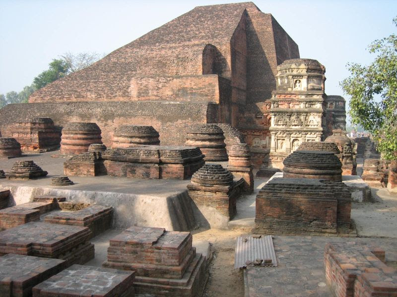 File:Nalanda University India ruins.jpg