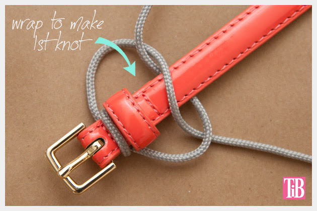 Paracord Belt DIY Knotting