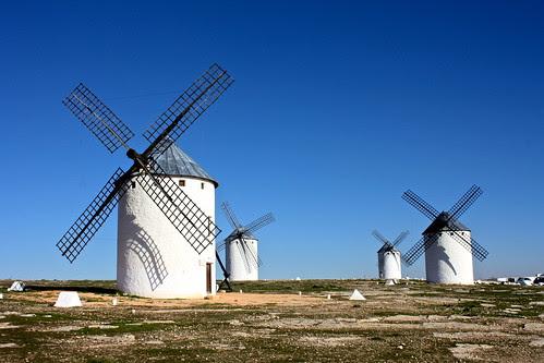 Windmills, Campo de Criptana, Spain