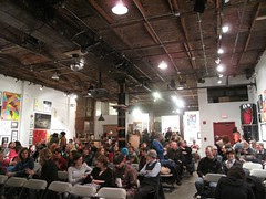 Screening at Space Gallery in Portland, Maine