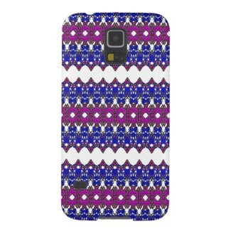 Zig-Zag Style Design on Samsung Galaxy S5 Case