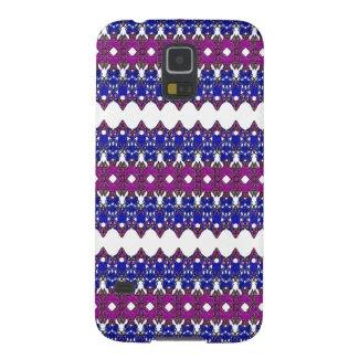 Zig-Zag Style Design on Samsung Galaxy S5 Case