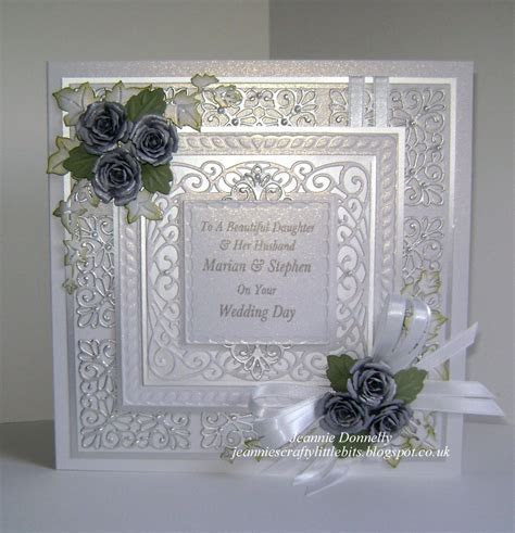 Another Wedding Day Card   Using a Creative Expressions