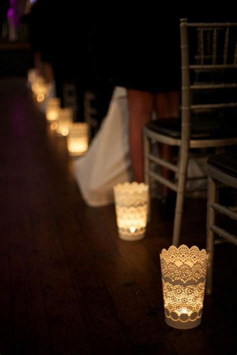 Ceremony   Candle Lit Aisle At Berkeley Church #2040432
