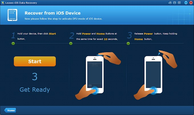How to Enter DFU Mode and Recover Deleted Files from iPhone Leawo Tutorial Center