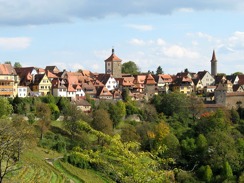 Surrounded by Towers - Rothenburg ob der Tauber, Germany