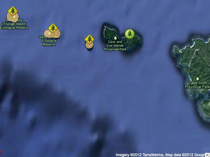 Triangle Island Maps Friends Of Ecological Reserves