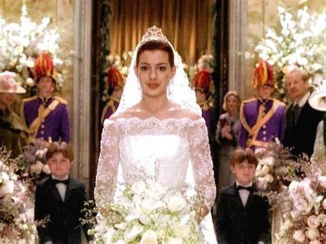 Anne Hathaway Bride in Princes Diaries II I Most Memorable