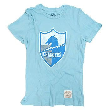 Retro Sport - Women's San Diego Chargers Tee